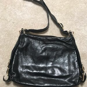 Kooba crossbody black leather